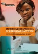 """Onderzoeksrapport """"Studiekeuzegesprekken: op zoek naar maatwerk"""""""