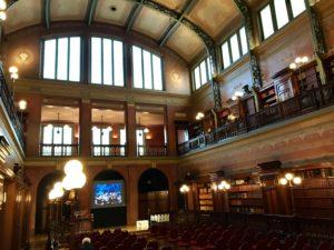 solvay library