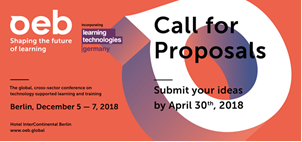 OEB 2018 Call for Proposals