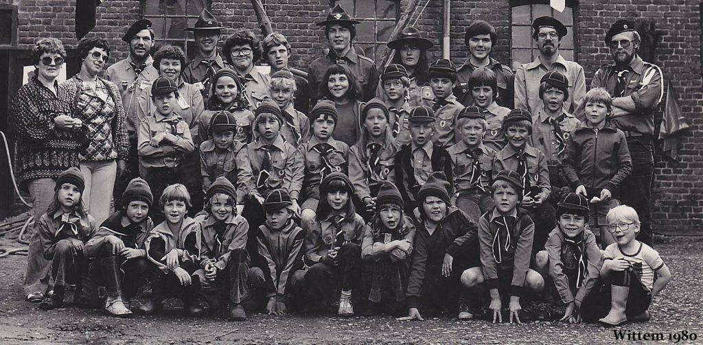 Scoutinggroep St Hubertus Wittem 1980