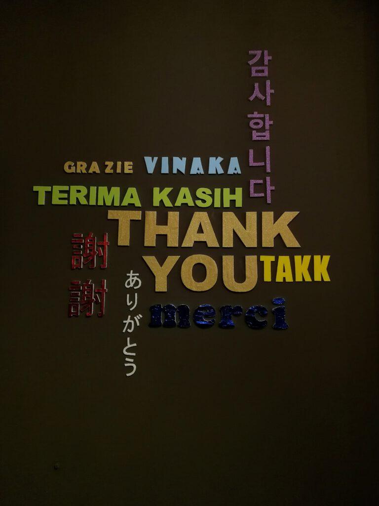 Than k you